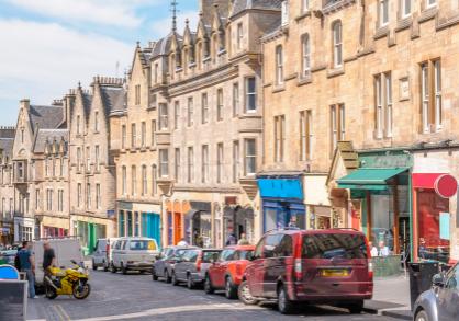 city life in Edinburgh